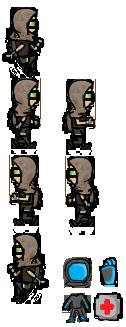 Apocalypse Character Sprite Sheet
