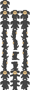 Wilfred Character Sprite Sheet