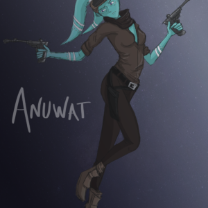 Anuwat Star Wars OC