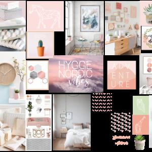 Pink Mood Board