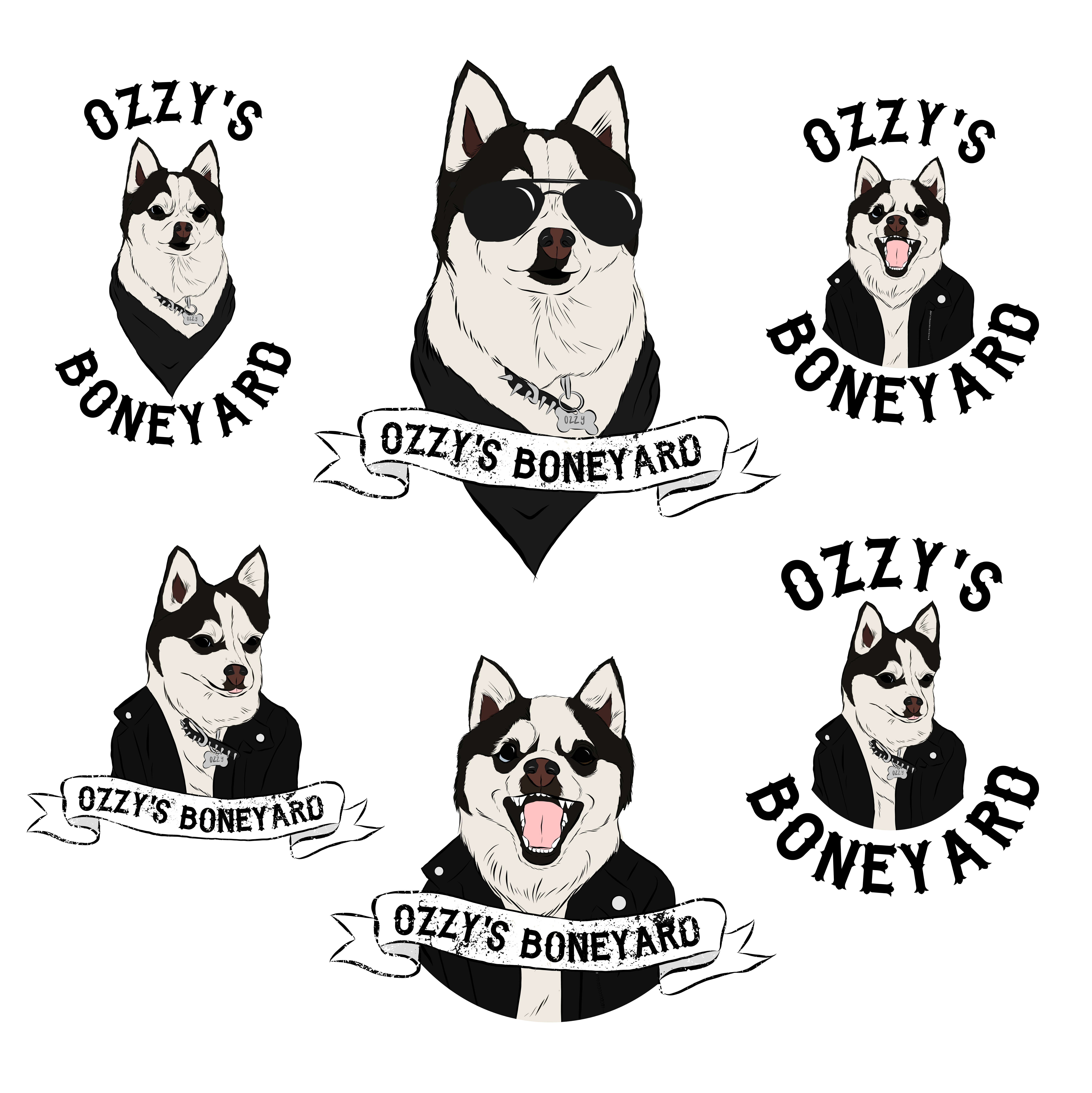 Ozzy Stickers