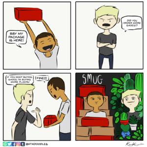 Plants vs Shoes